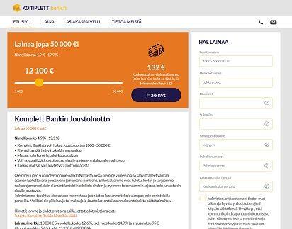 Netin maukkain kulutusluotto 50.000 euroon joustavasti ilman kiinteä maksuerää.