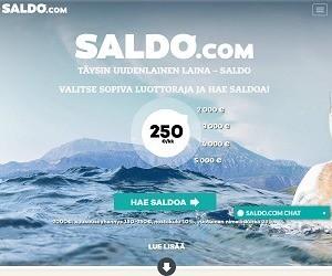 saldo.com uudenlainen luottoraja laina