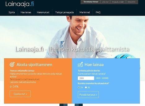 lainaaja.fi vertaislaina heti tilille ilman vakuuksia ja takaajia