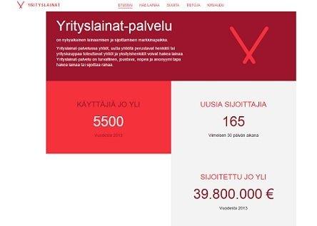 vauraus suomi yrityslainat.fi lainaa pienille ja suurille yrityksille