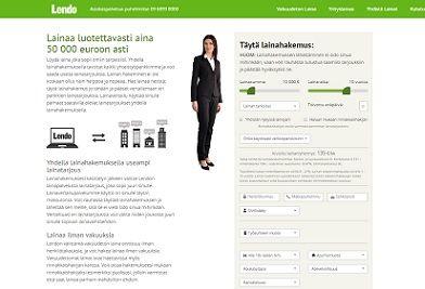 Lendo.fi aina paras laina ilman vakuuksia netistä.