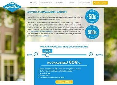 Limiitti - luottoa suomalaiseen arkeen ja juhlaan!
