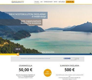 eurolimiitti joustoluotto 3.000e luottorajalla ilman kiinteä vuosimaksua