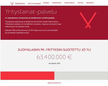 Rehellinen suomalainen Yrityslainat.fi palvelee sinua verkossa.
