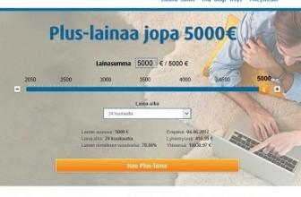Ferratum Plus-lainaa isompiin menoihin.