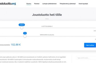 Joustoluotto.org – palvelun tiedot