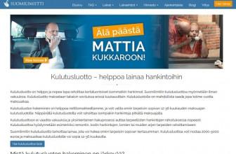 Suomilimiitti kulutusluotto – Kokemuksia uudesta lainasta!